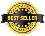 Stock Illustration of Best Seller Five Stars Golden Badge Award