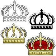 Royal Crown Stock Illustration