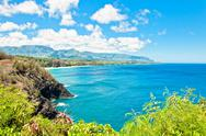 Stock Photo of Kauai north shore, Hawaii Islands