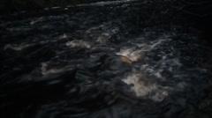 Rapids - Stream Running Water Stock Footage
