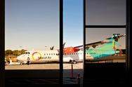 Stock Photo of Island Air ATR 42 in Honolulu International Airport