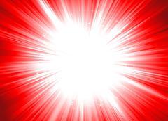 Christmas starburst (dynamic editable colors) Stock Illustration
