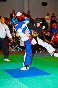 3rd world kickboxing championship 2011 Stock Photos