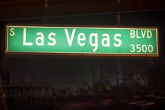 Las Vegas Boulevard - stock photo