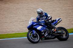 jorge arroyo pilot of stock extreme in the cev - stock photo