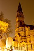 lutheran church in odessa - stock photo