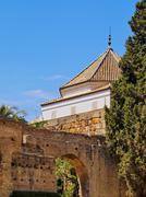 Stock Photo of alcazar of seville, spain
