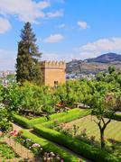 Alhambra in granada, spain Stock Photos