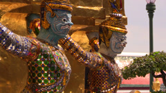 Grand Palace details, Bangkok, Thailand. HD 1080p. Stock Footage