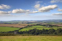 Cornish landscape Stock Photos