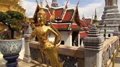 Grand Palace different views, Bangkok. HD 1080p. Stock Footage