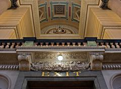 Stock Photo of interior of st georges hall, liverpool, uk