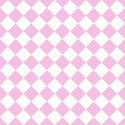 pale pink and white diagonal checkers on textured fabric background - stock illustration
