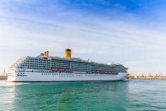 Cruiser costa mediterranea Stock Photos
