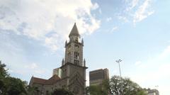 Stock Video Footage of 079 Sao Paulo, church