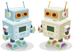 Robot toy for children Stock Illustration