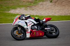 Didac fernandez pilot of stock extreme in the cev Stock Photos
