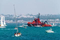 Maritime rescue ship maria zambrano Stock Photos