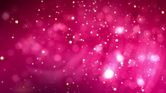 Pink Background. Abstract background with motion particles Stock Footage