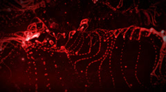 Plasma. Red light background. Technology background Stock Footage