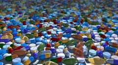 Pills Loop Stock Footage