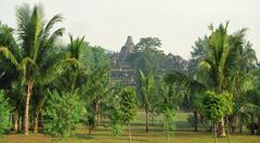 Indonesia Borobudur Stock Photos
