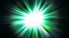 Sunbeam. Light green backgroundreen Stock Footage