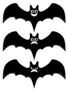 Stock Illustration of cartoon bats