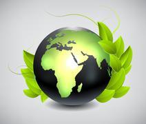 Stock Illustration of green earth