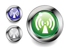 wireless icon - stock illustration