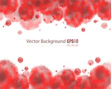watercolor background - stock illustration