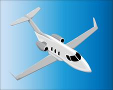 Airplane vector Stock Illustration