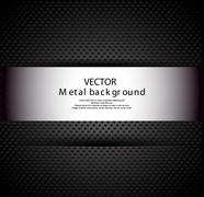 Stock Illustration of metal background