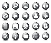 Stock Illustration of web icons