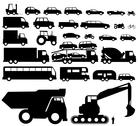 Stock Illustration of vehicle silhouette vector