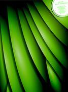 Stock Illustration of green leaf background