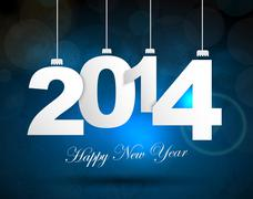 Stock Illustration of new years background