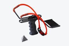 Adjustable slingshot Stock Illustration