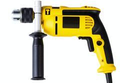 Electrical drill Stock Photos