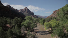 1080 HD video of Zion National Park, Utah Stock Footage