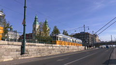 Trams Stock Footage