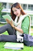 Nuori aasialainen opiskelija on hyvä uutinen Kuvituskuvat