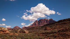 The stunning Zion National Park landscape in HD Stock Footage