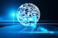 Stock Illustration of Glowing sphere