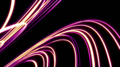 Abstract Fashion Curve Loop V4 Stock Footage