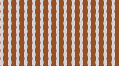 Orange Kaleidotile Stock Footage