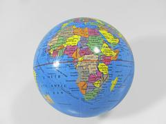 model of planet earth - stock photo