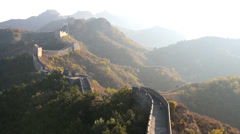 Great Wall  Jinshanling nr Beijing, China Stock Footage