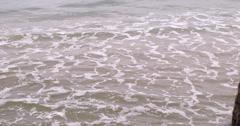 Stock Video Footage of Choppy grey sea