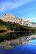 Stock Photo of emerald lake, yoho national park, british columbia, canada